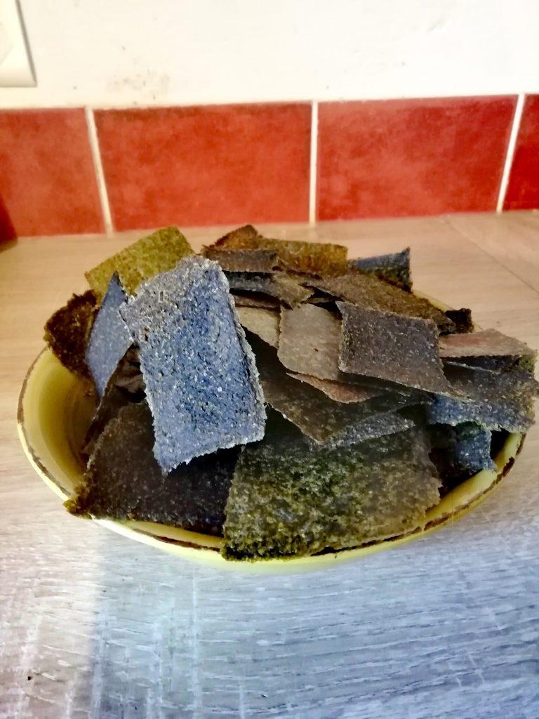 stage de cuisine recette crackers crue
